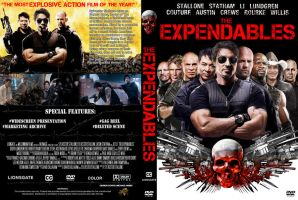 The Expendables Cover DVD by michael160693