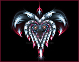 heart pendant v1 by karma4ya