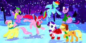 Winter Fun by elkerae