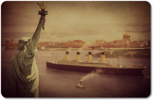 Titanic in New York - A Sight That Would Never Be by RMS-OLYMPIC
