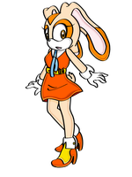 Cream The Rabbit adult version by ManamiTheBest