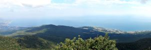 View from Mount Ai-Petri No2 by Maiyoko