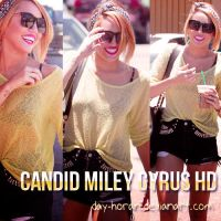 Candid Miley Cyrus by Day-Horan