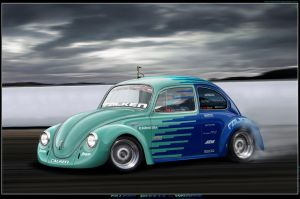 Falken Beetle by Wrofee