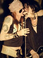 Axl and Izzy by brebeex