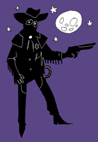 ghost cowboy by plaguewater