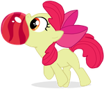 My second vector of Apple Bloom/CMC 2/3. by Flutterflyraptor