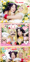 Purikura Sailor Moon and Luna by Bunnymoon-Cosplay