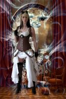 Steampunk Traveler by Shawn-Saylor