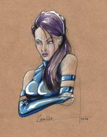 psylocke sketch by camillo1988