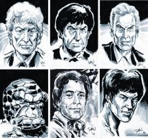 Sketch Cards by Simon-Williams-Art