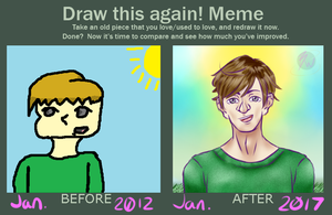 MISC:: Draw it again! Meme by Baron-of-Mania