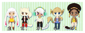 Adopt Me!:: Boy Edition :CLOSED: by Sumu-Zu