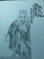 Palutena (Kid Icarus: Uprising) by paint-and-pen-key