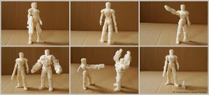 Mechawhales female soldier 3D test print by hauke3000