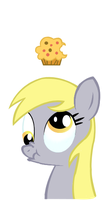 Derpy iPhone Case by shinylugiacat