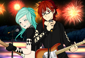 Rock Stars by animefreak4277