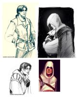 Surface Pro: AC sketches by CavalierediSpade