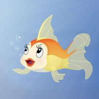 Goldfish Cleo by nadda1984