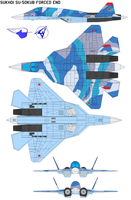 Sukhoi SU-50kub forced end by bagera3005