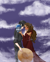 Zutara Week Day 1: Mask by Ringo-Ichigo