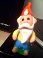 sculpey gnome by SLeazy-P
