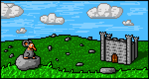 Cult: Grasslands and rocks and castles and aaa by shook12