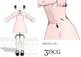 MMD- Cute dress-DOWNLOAD by MMDFakewings18