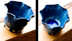Altered Wheeled Pot by Findae