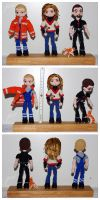 The Crocheted: Mom's Kids by janey-in-a-bottle