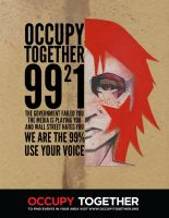 Occupy Poster by BLSingleton