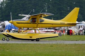 Glasair Floatplane Taxi by shelbs2