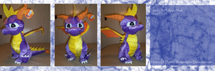 .: Jumbo Spyro Plush :. by BeachBumDunkin