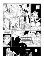 Brogunn page 4 pencil by PatBoutin