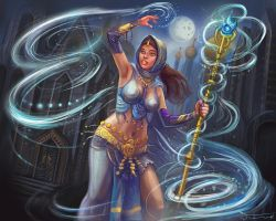 Chaneller mage by bocho
