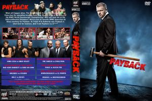 WWE Payback 2014 DVD Cover by Chirantha