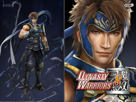 DW8 Wallpaper - Yue Jin by Koei-Warrior