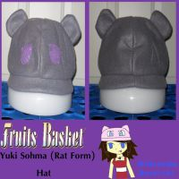 Yuki Sohma-Rat Form- Hat by MiharutheKunoichi