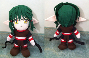 Kisshu from Tokyo Mew Mew Plushie - SOLD by WolfTwine