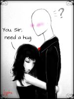 Slender-Hug by Willo0ow