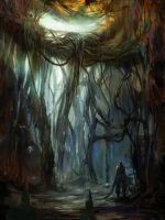 lost cave by Koily
