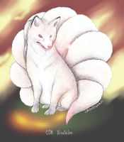 Ninetales by LordOrenamus