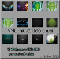 Background for Android Phone by Eg-Art