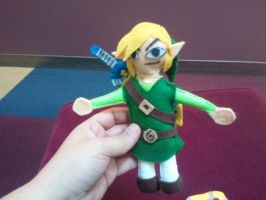 link plushie 1/4 by Funk-Golem