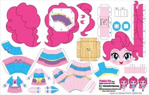 Pinkie Pie Equestria Girls (JCG 063) by ELJOEYDESIGNS