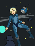 Rosalina Floating in Space by JDogindy