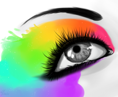 DRIPPY EYE by Ys-izm