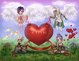 Valentine's Day in Aion by BULBER