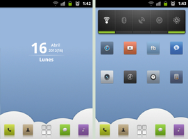 My android desktop by Algalord-Gnome