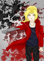 Edward Elric by QueenAllyJean